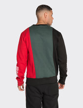 Load image into Gallery viewer, Colour blocked Print Sweatshirt