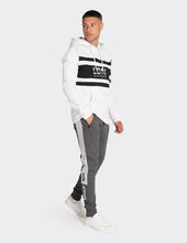 Load image into Gallery viewer, Charcoal side stripe joggers