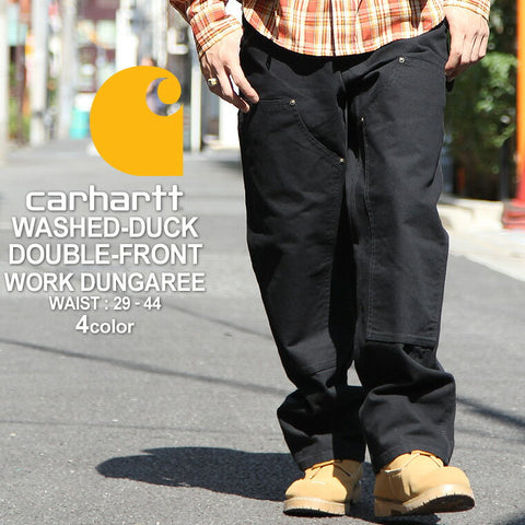 Carhartt Washed Duck Double Front Dungaree
