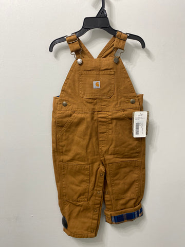 Carhartt Toddler Flannel Overalls