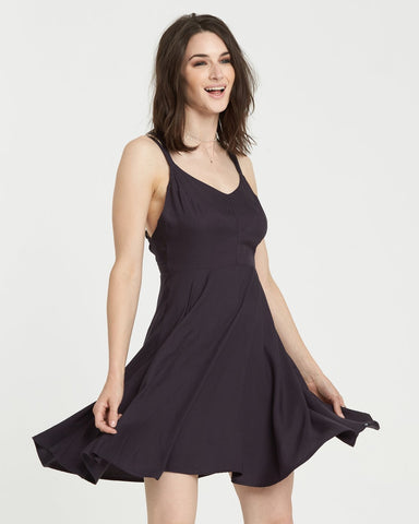 Element Heart Twill Dress