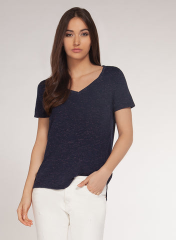 Dex Navy V-neck