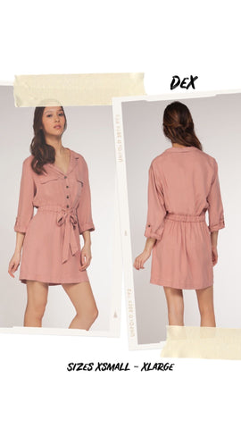 Dex Shirtdress