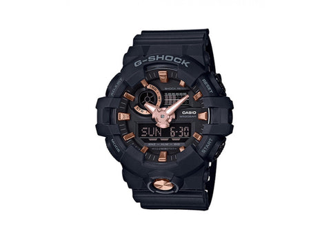 G-Shock Black with Gold Watch