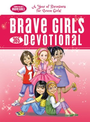 Brave Girls 365-Day Devotional (Hardcover)