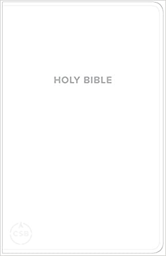 CSB Gift & Award Bible White (Imitation Leather)