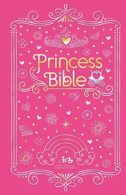 ICB Princess Bible With Coloring Sticker Book (Hardcover)