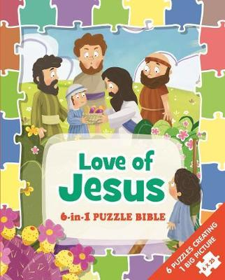 Love Of Jesus 6 In 1 Puzzle Bible (Padded Board Book)