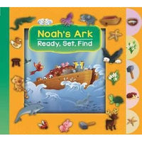 Ready, Set, Find! Noah's Ark (Boardbook)