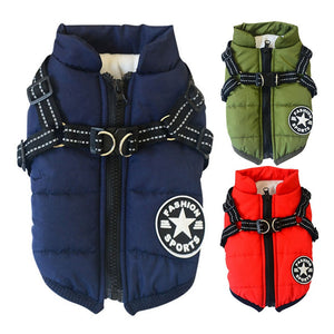 Dog Coat Chest & Back