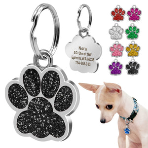 Personalized Paw Tag