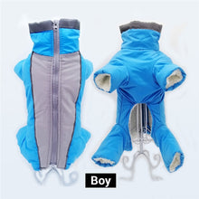 Load image into Gallery viewer, Waterproof Jumpsuit Trousers Male/ Female Dog Reflective Small Dog