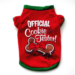 Christmas Costume Cute Cartoon For Small Dog