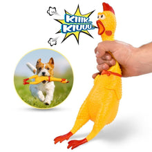 Load image into Gallery viewer, Screaming Chicken Squeaky Toy