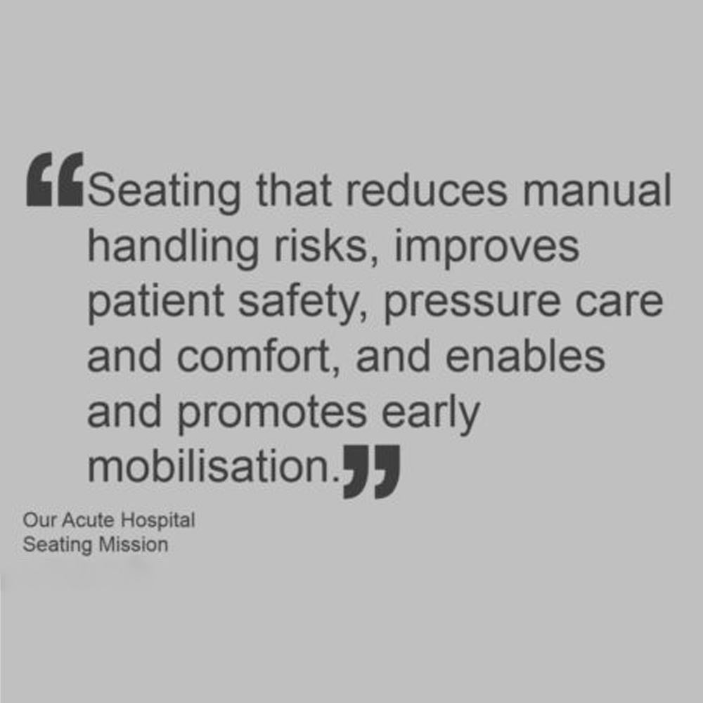 Our mission for Critical Care underlined by our customers own words…