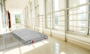 Alrick EN9000 Bed – ultra-low floor level profiling, falls prevention.
