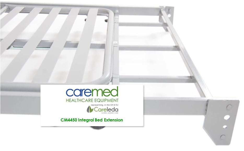 Caremed Extendable Nursing Care Beds - 200mm length extension for taller residents
