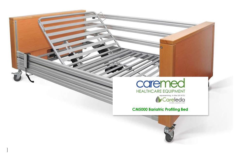 Caremed Nursing Care Beds - Bariatric Care Bed - up to 381kg working load