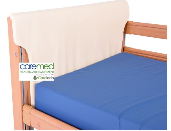 Caremed Care Beds - Head and Foot Pads Reduce Gaps and Entrapment Risk