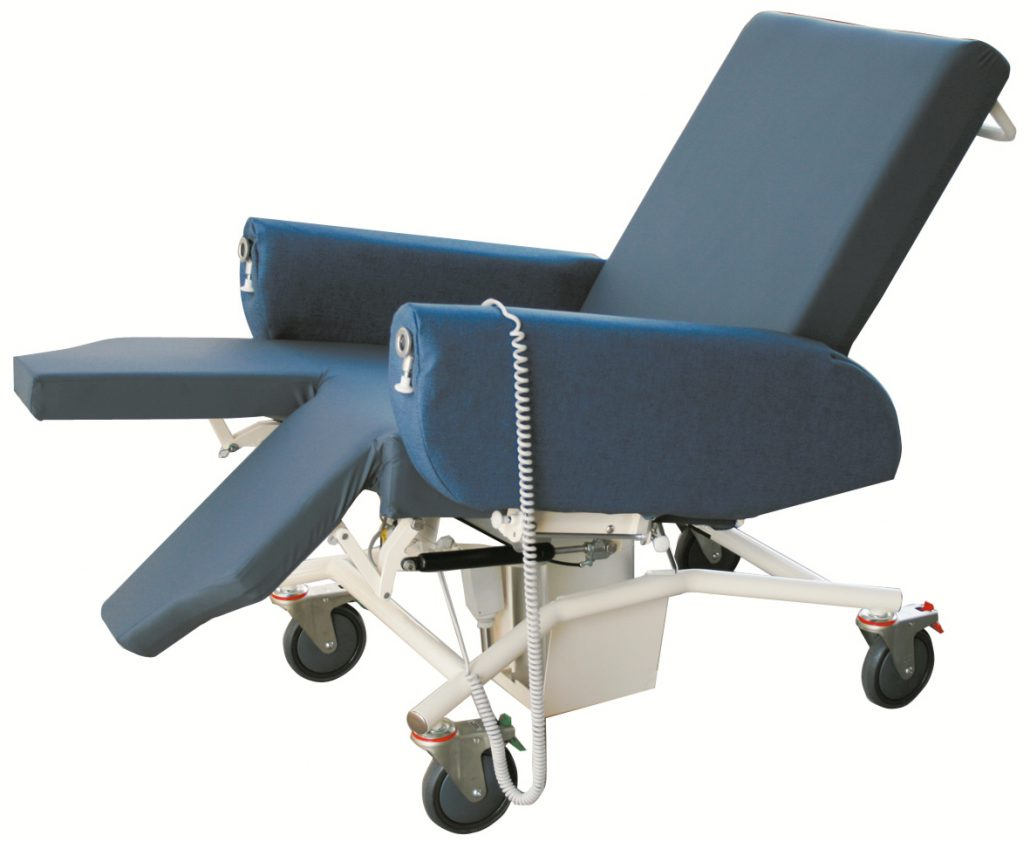 Caremed Split Legrest Option Seating