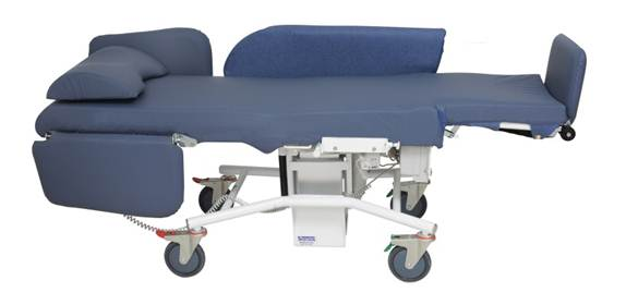sertain intensive care chairs medical trauma chairs hospital furniture 100% layflat
