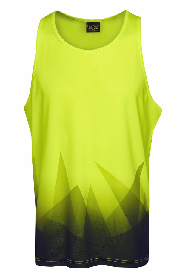 BW-S85-Hi Vis Triangular Design Singlet