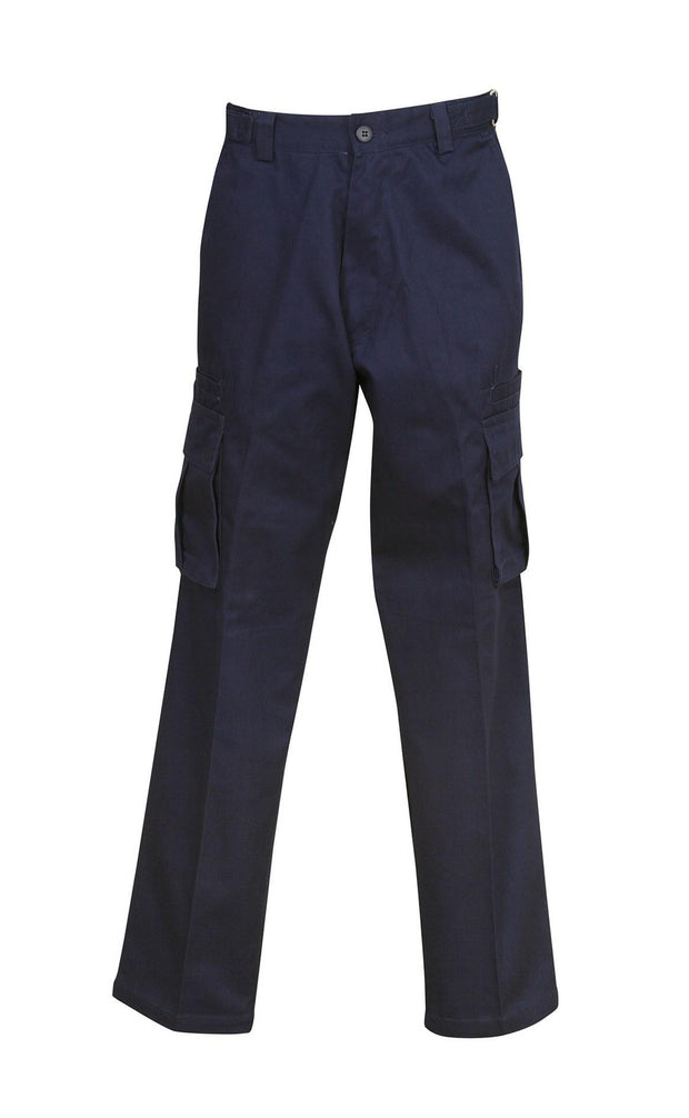 Blue Whale-W83-Heavy Weight Drill Cargo Pants