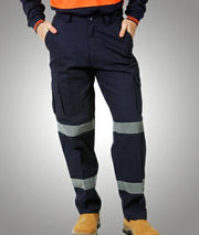 Blue Whale-W93-Cargo Pants with Reflective Tape