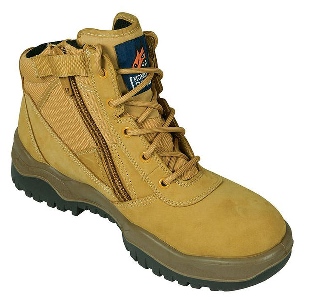 Mongrel Boots-261050-Wheat Zip Sided Safety Boot