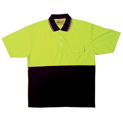 Bocini-SP0427-Hi Vis Short Sleeve Safety Polo