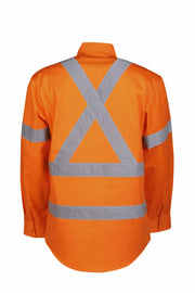 Blue Whale-C95-HIVis Lightweight Rail Shirt