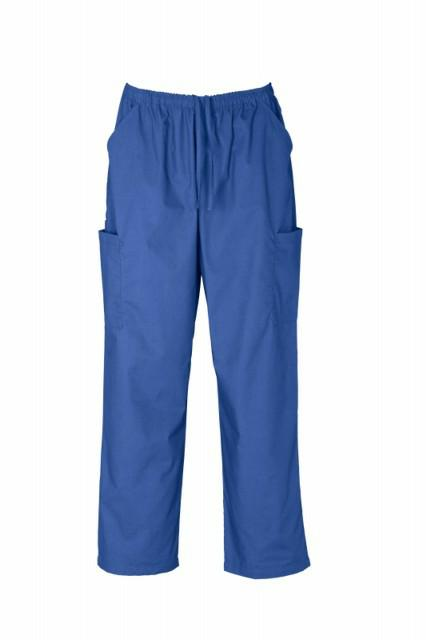 Biz Collection-H10610-Unisex Scrubs Cargo Pant