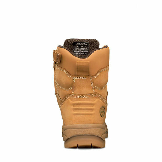 Oliver-55332Z-150mm Wheat Zip Sided Safety Boot