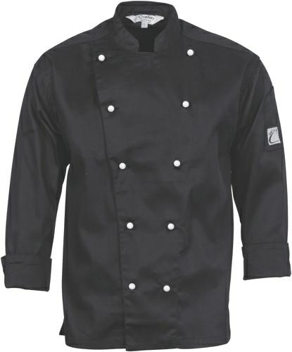 DNC-1106-Three Way Ventilated L/S Chef Jacket
