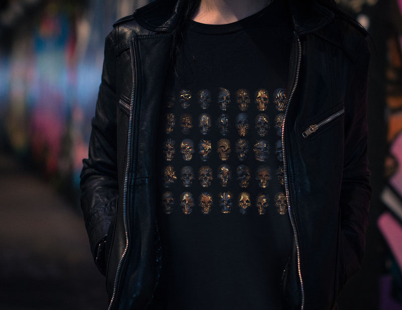 50 Ways To Day Gold Skull Unisex T-Shirt
