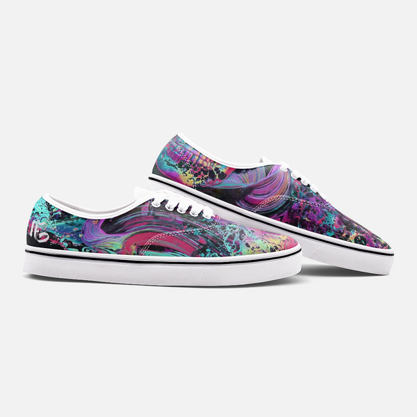 LSD Trippy Paint Sneakers
