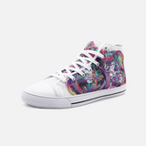 Trippy Colour Skull Shoes