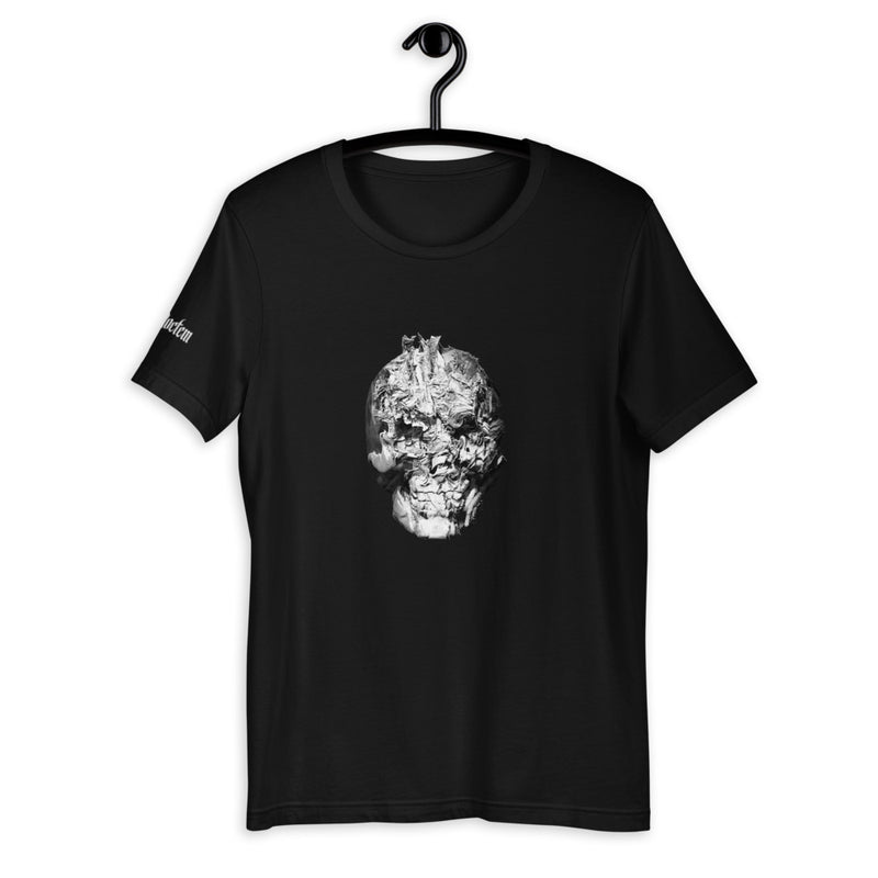 Abstract Skull Collection Number 1 Unisex T-Shirt