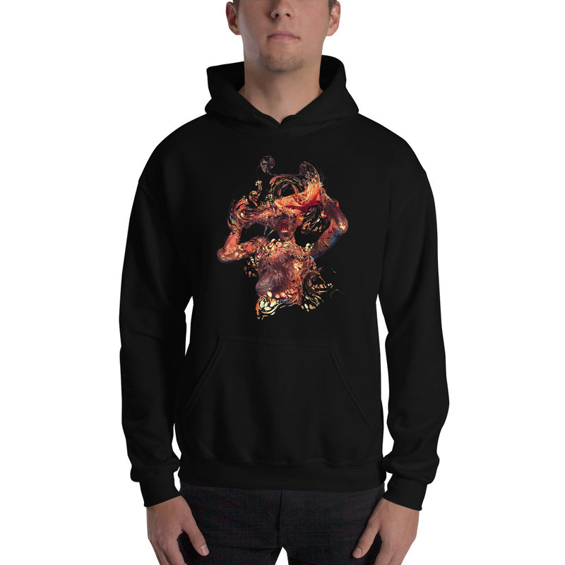 Fire thoughts Unisex Hoodie