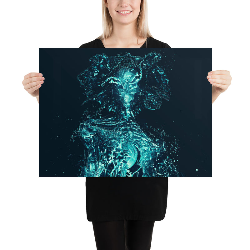 Water monster Poster