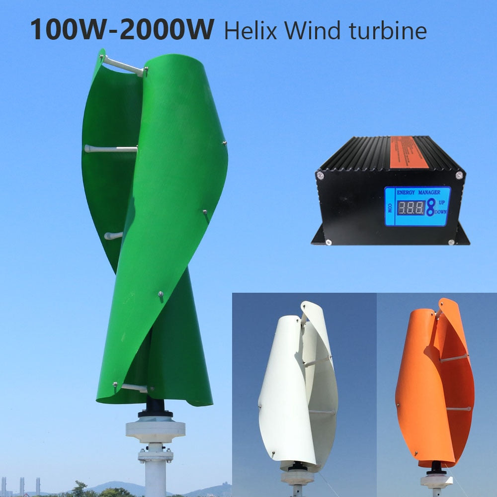 Vertical Wind Turbine Generator