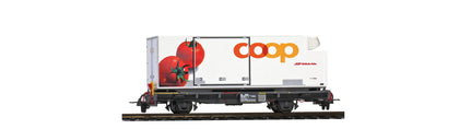 "Rhb Lb-v 7881 Coop Containerwagen ""Tomate"""