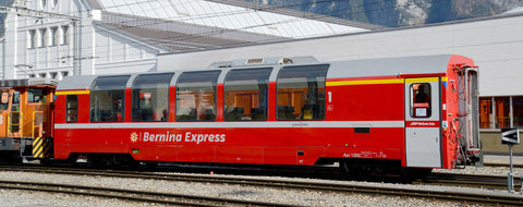 "RhB Bp2506 Panoramawagen ""Bernina Express"" neu"