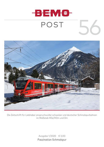 "Bemopost 56  1/2020 ""Allegra im Winter"""