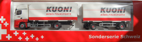 "MB Actros Hängerzug ""Kuoni"" Container"
