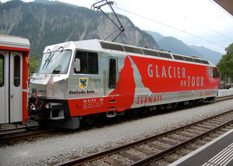 "Rhb Ge 4/4III 651 ""Glacier on tour"" Sound"