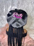 """Pretty Poppin"" Satin Bonnet"