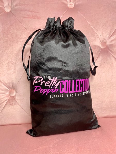 *NEW* The Pretty Poppin Collection - Satin Bag