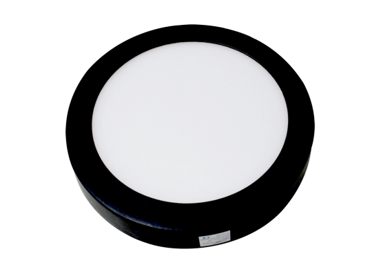 Lampu Downlight DL-OB-240R Hitam LED 18 W 22 CM Bulat Warm White FATRO