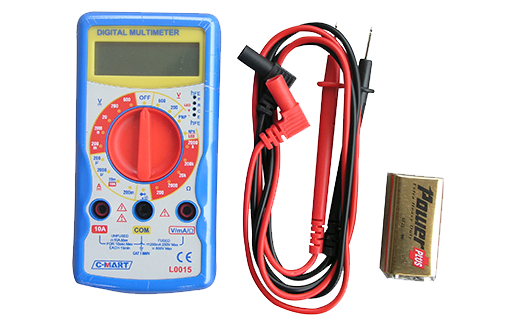 Multimeter Digital Cl0015 Cmart